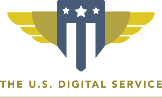 The U.S Digital service company logo