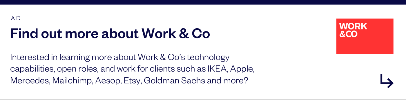 Work&Co advertisement